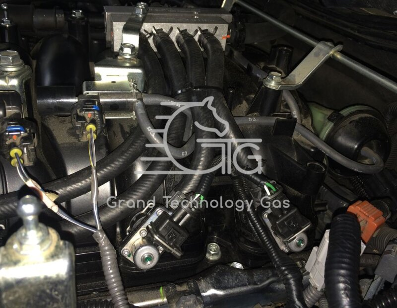 Установка газа на Lexus LX 570
