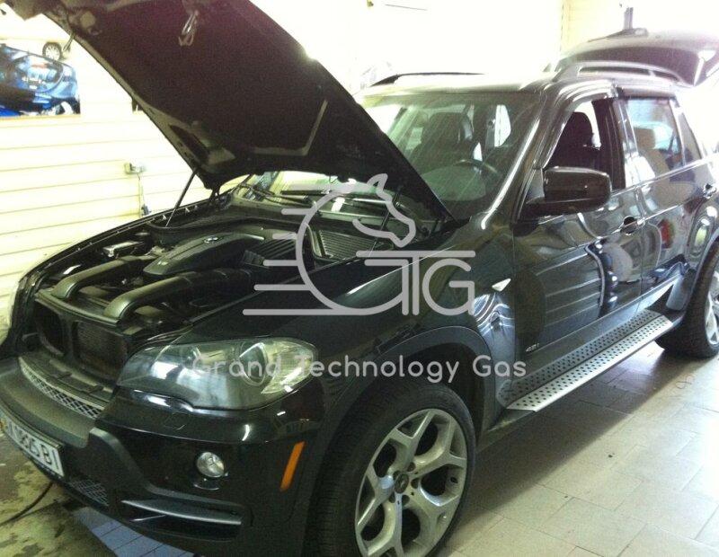 BMW X5 , установка ГБО