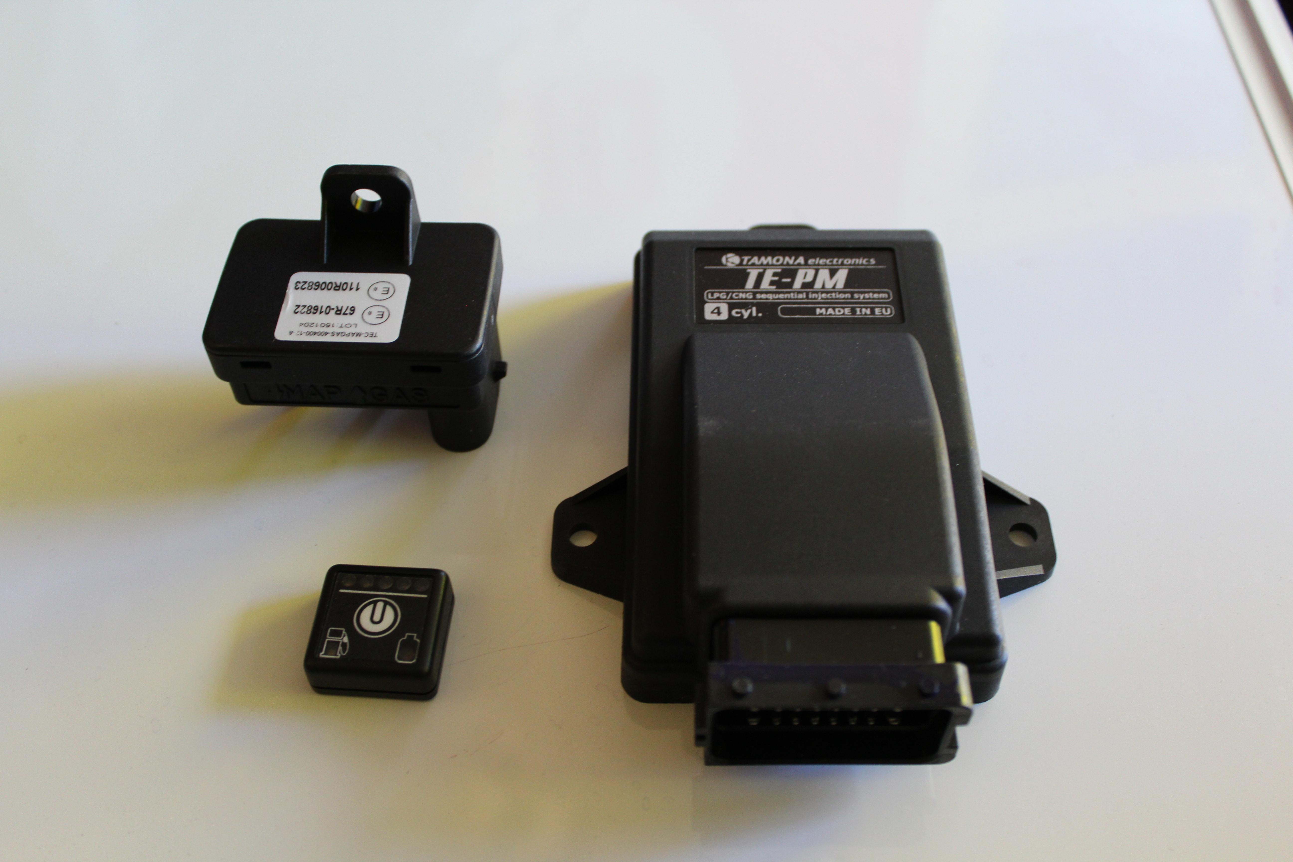 Блок Управления Tamona TE PM, кнопка управления, map sensor