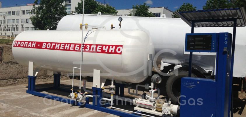 Расход газа