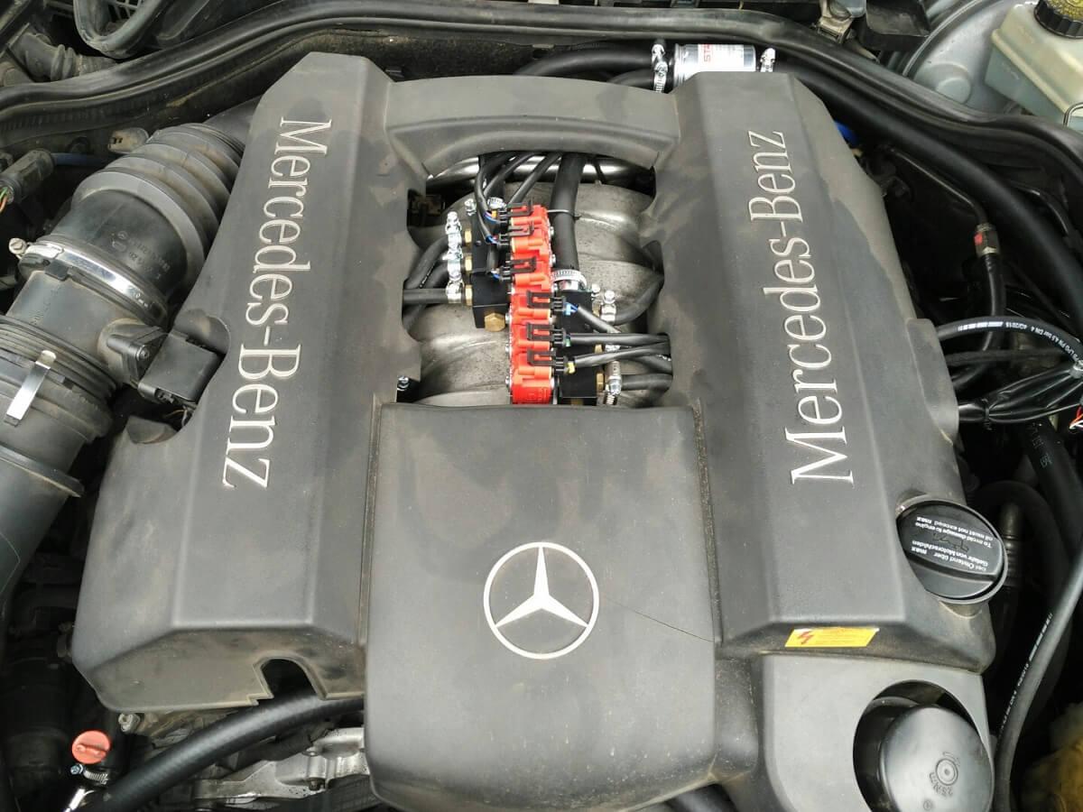 ГБО 4 поколения на Mercedes
