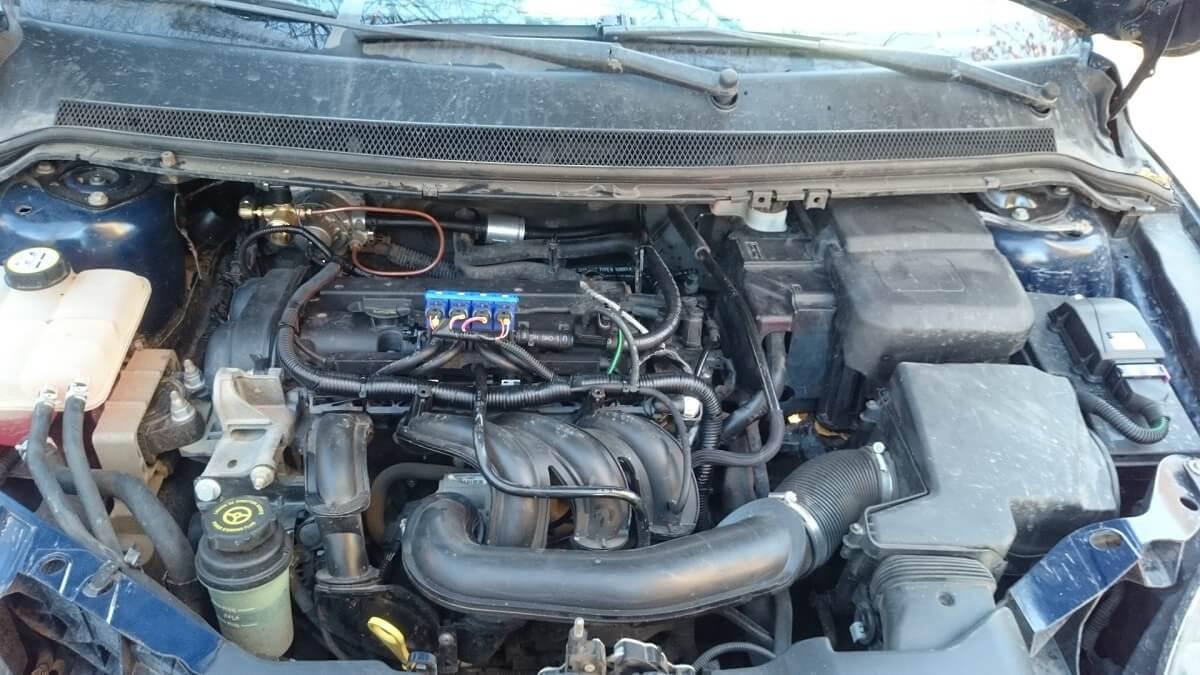 газовое оборудование на Ford