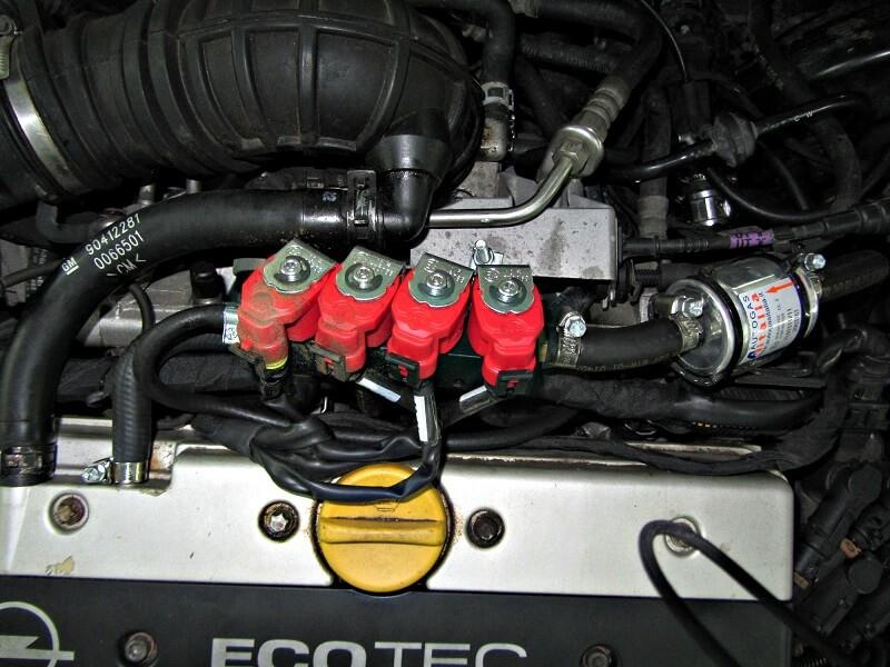 ГБО 4 поколения на Opel